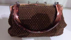 Bolsa Mini Feminina Dupla Face Marrom Colors -vintage