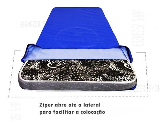Capa Para Colchão Impermeável Hospitalar Com Ziper