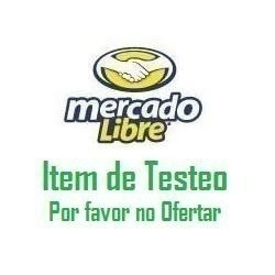 Item De Prueba Wordings--favor No Ofertar