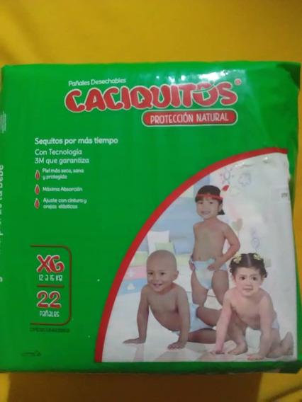 Pañales Caciquitos Xg (en Oferta)
