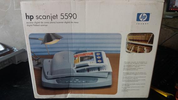 Scanner Hp Scanjet 5590 Duplex Novo Zero