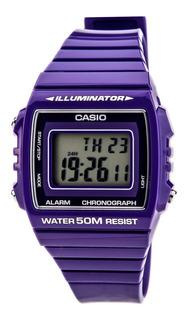 Reloj Casio Chrono Alarm W215h6avdf | Original | Agente Of.