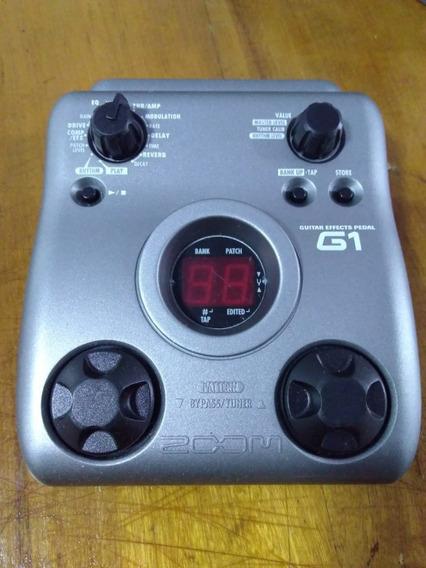 Pedaleira Zoom G1 - Digital - Para Guitarra