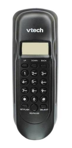 Imagen 1 de 3 de Teléfono fijo VTech VTC50 negro