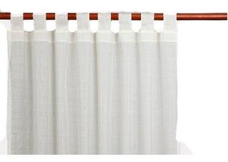 Cortina Voile Corta 1,45 X 1,30 Lista Para Colgar De Fabr