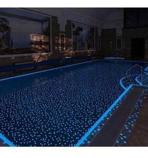 Mosaico Veneciano Luminicente Azul Caja Con 2 Mts2 Msi