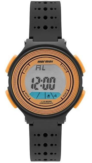Relógio Mormaii Kids Digital Preto E Laranja Mo0974c/8l