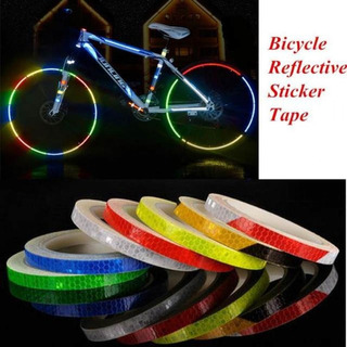 1cm*8m Reflective Stickers Motorcycle Bicycle Reflector Bike