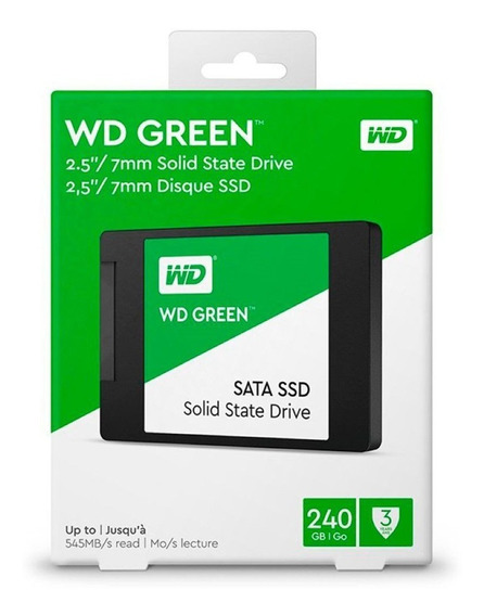 Ssd Wd Green 2.5