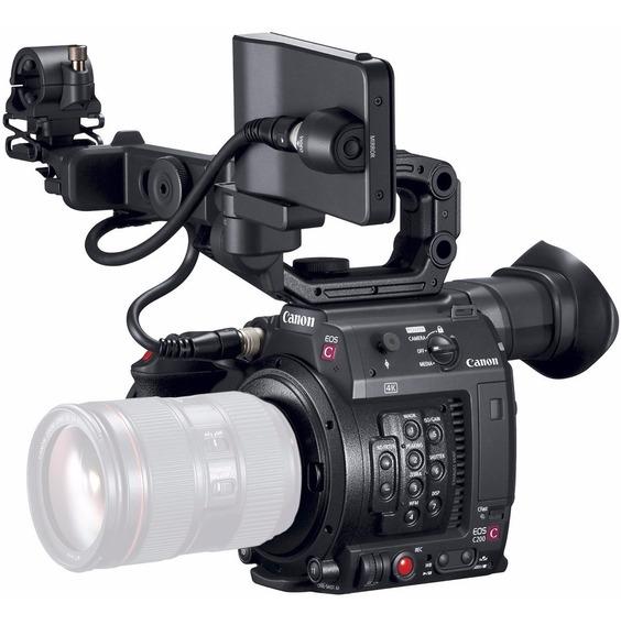 Câmera Canon Cinema Eos C200 Novo Nf