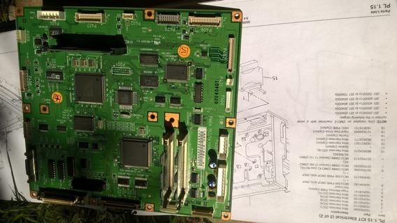 Mcu/sw Pwb - Placa Unidade De Controle- Xerox Wc423