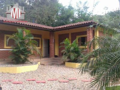 Chácara Com 02 Dormitórios À Venda, 1250 M² Por R$ 260.000 - Rural - Socorro/sp - Ch0291