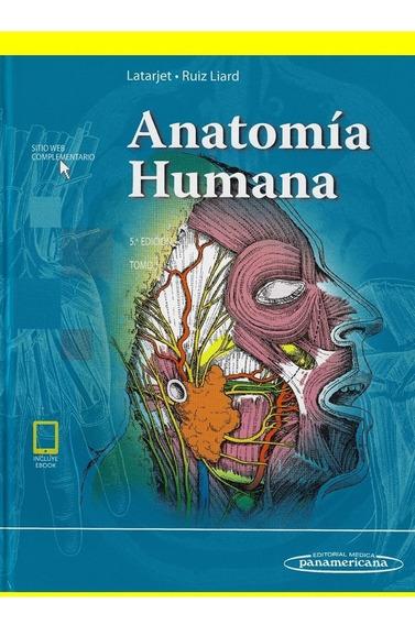 Livro De Anatomia - Latarjet 5º Edición - En-espanhol