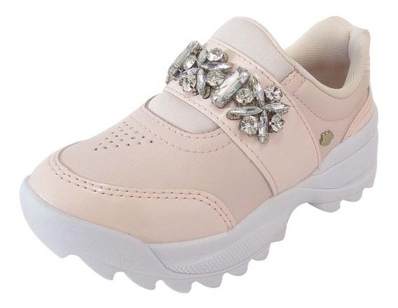 Tenis Pink Cats Menina Tratorado - V1032