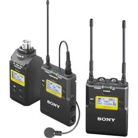 Microfone Lapela Sony Uwp-d16 - Com Plug On Xlr
