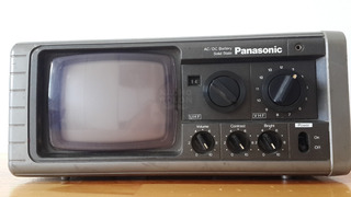 Panasonic Tr-515r Solid State Am/fm Radio Portable Tv