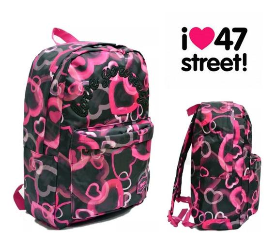 Mochila Nena Escolar Mujer Urbana 100 % Original 47 Street
