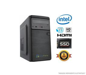 Computador Home Office Intel Core I3-8100 4gb Ram, Ssd 120gb