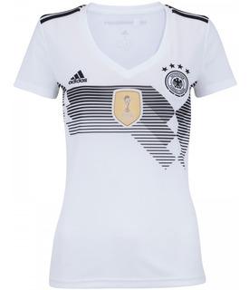 Camisa Oficial Alemanha 1 Feminina 2018