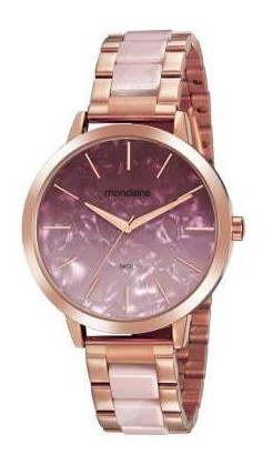 Relógio Feminino Rosê Mondaine Original 53975lpmvrf2 Nfe