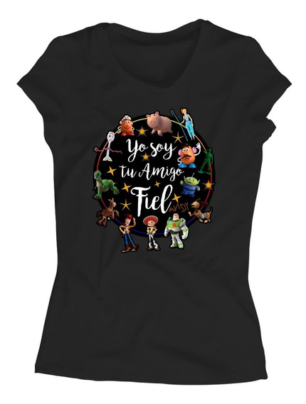 Playera Yo Soy Tu Amigo Fiel Toy Story 4