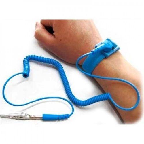 Bracelete Pulseira Antiestatica Proteção Esd 10 Unidades