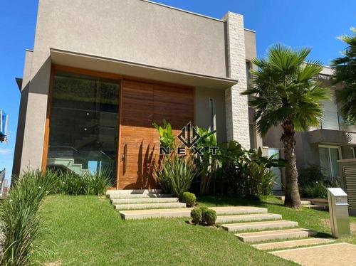 Casa Com 4 Suites À Venda, 575 M² No Residencial Villa Solaia - Alphaville - Sp - Ca0427