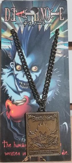 Collar Metalico De La Serie Anime Death Note Ryuk