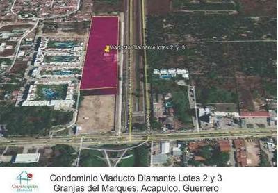 (crm-4510-2973) Cad Playa Diamante - Viaducto Diamante. Lotes 2 Y 3