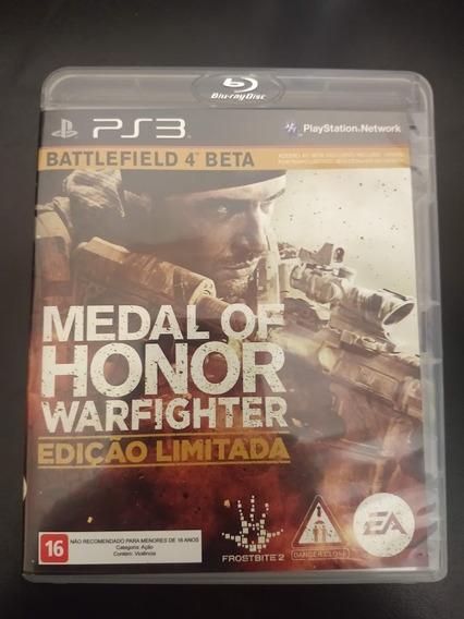 Medal Of Honor Warfighter Ps3 Mídia Física Original Perfeito