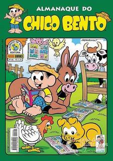 Hq Gibi - Almanaque Do Chico Bento - Turma Da Mônica N° 66