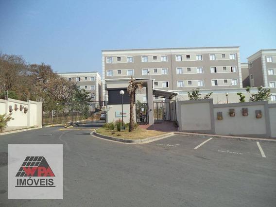 Apartamento Com 2 Dormitórios Para Alugar, 45 M² Por R$ 700,00/mês - Jardim Recanto - Americana/sp - Ap1492