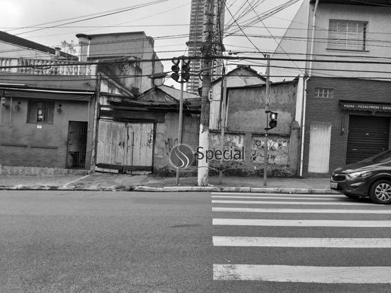 Terreno À Venda, 350 M² - Tatuapé - São Paulo/sp - Te1157