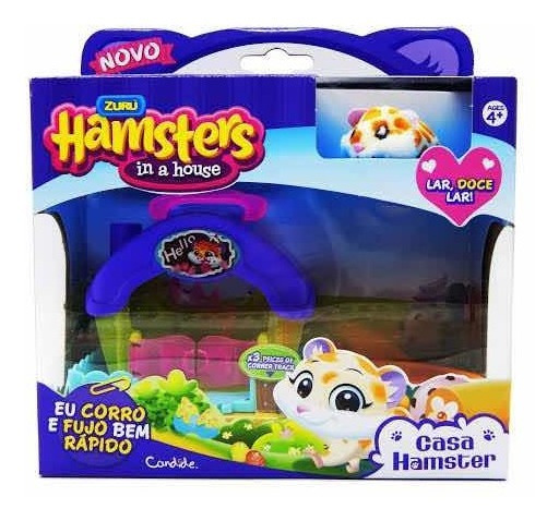 Zuru Hamsters In A House Casa Hamster Food Frenzy Candide