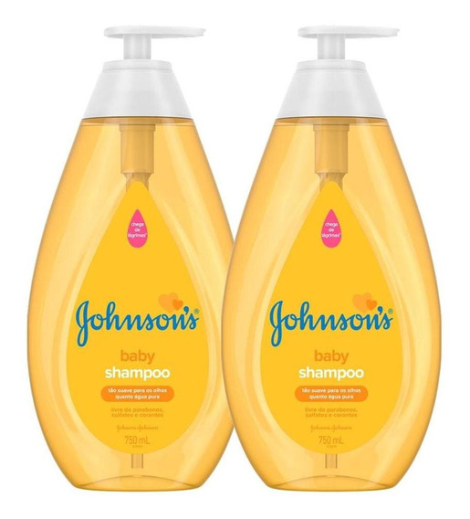 Kit Com 2 Shampoos Johnson