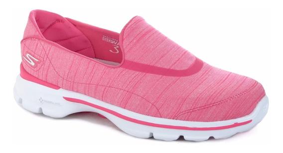 Zapatillas Skechers Go Walk 3 Mujer Caminata Goga+ Importada