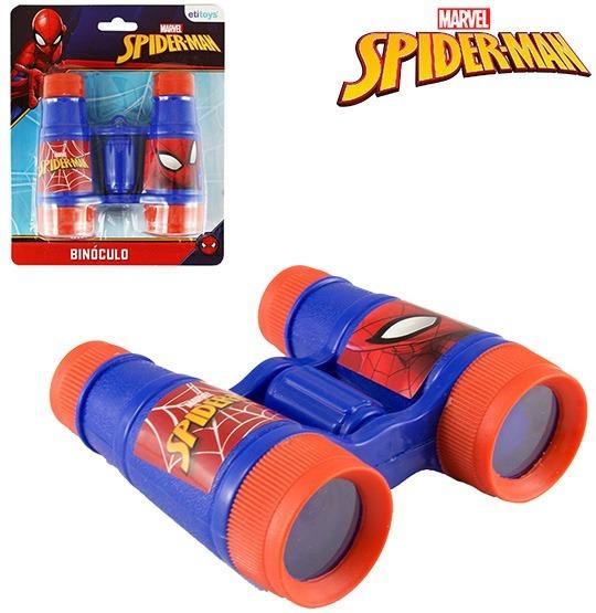 Binoculo Infantil Homem Aranha/spider Man Na Cartela Etitoys