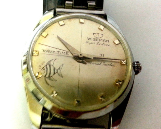 Relógio Wiseman Navy Time