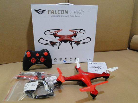 Drone Falcon 2 Pro - Drc377r - Quadcopter C/ Camera Video