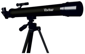 Telescópio Vivitar Refração 210x/420x Tripé Vivtel50700