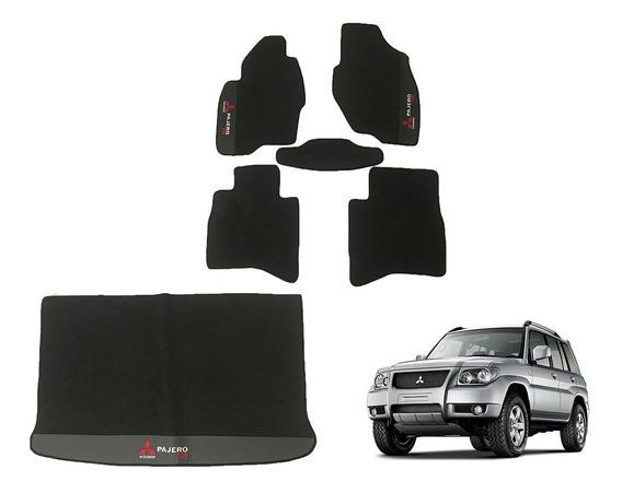 Kit Tapetes Mitsubishi Pajero Tr4 Em Borracha 2003 A 2015