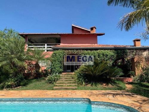 Imagem 1 de 23 de Chácara Com 3 Dormitórios À Venda, 1350 M² Por R$ 924.990 - Village Campinas - Campinas/sp - Ch0062