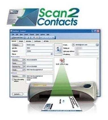 Escaner De Tarjeta De Visita Portatil Cssn Y Lector Scan2c