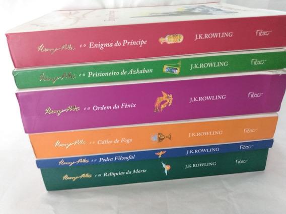Box C/5 Livros Harry Potter Falta 2-c.secreta/ordem Fenix