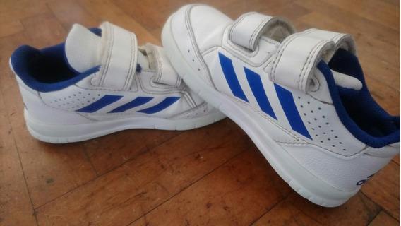 Zapatillas adidas Alta Sport Cf Infantil - Azul Y Blanco