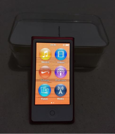 iPod Nano 16gb 7 Gen Rosa (c/ Dead Pixel Leia) Parc - 0f0gm
