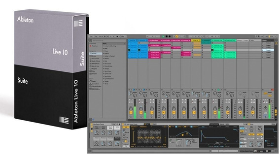 Ableton Suite Live 10 + Sylenth / 32 Lives