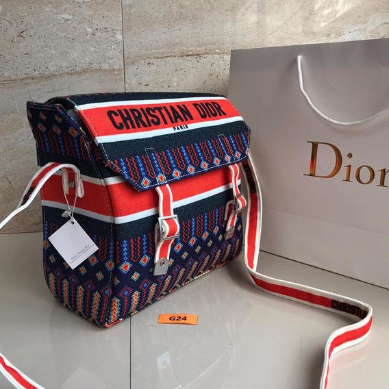 Bolsa A Cuadros - Diseño Premium Christian Dior