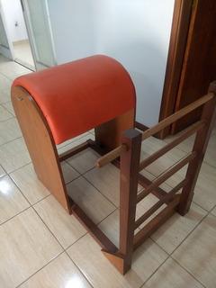 Ladder Barrel Pilates (usado) - Estofado Laranja Ou Preto