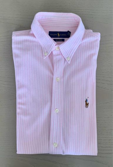 Camisa Polo Ralph Lauren Knit Oxford 100% Original T. Chica